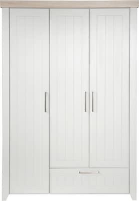 Kleiderschrank in Weiß