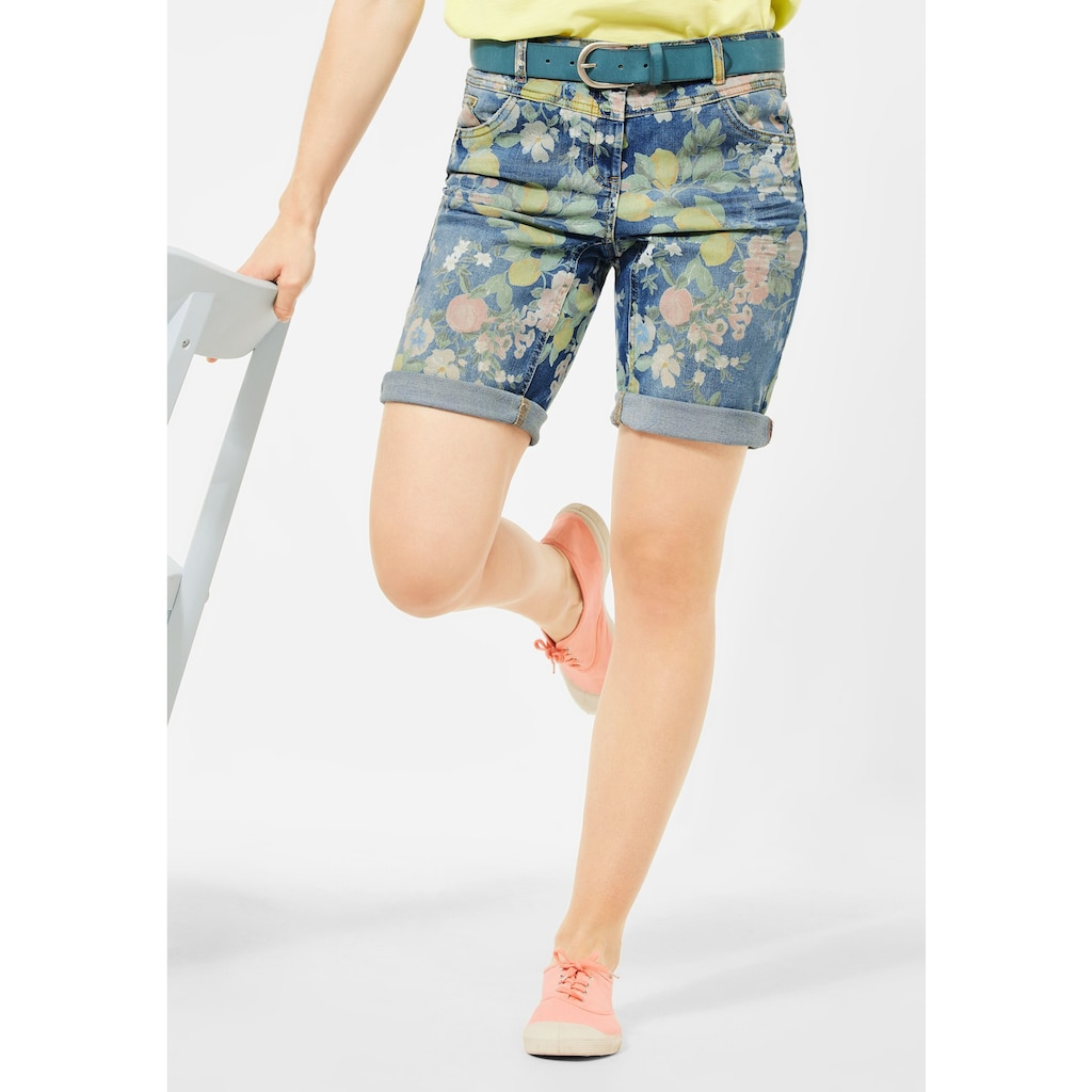 Cecil Jeansshorts, 5-Pockets Style
