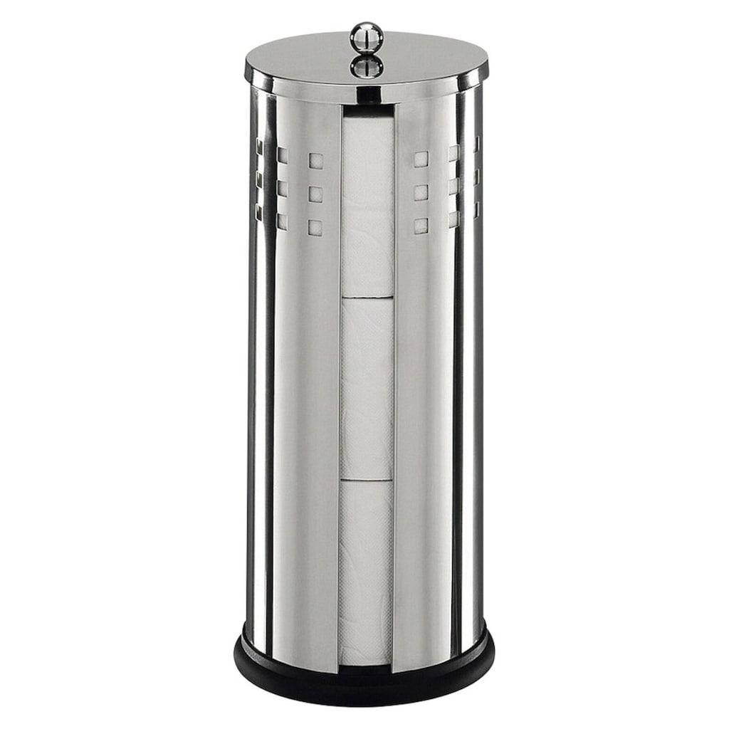 Zeller Present Toilettenpapierhalter, Edelstahl
