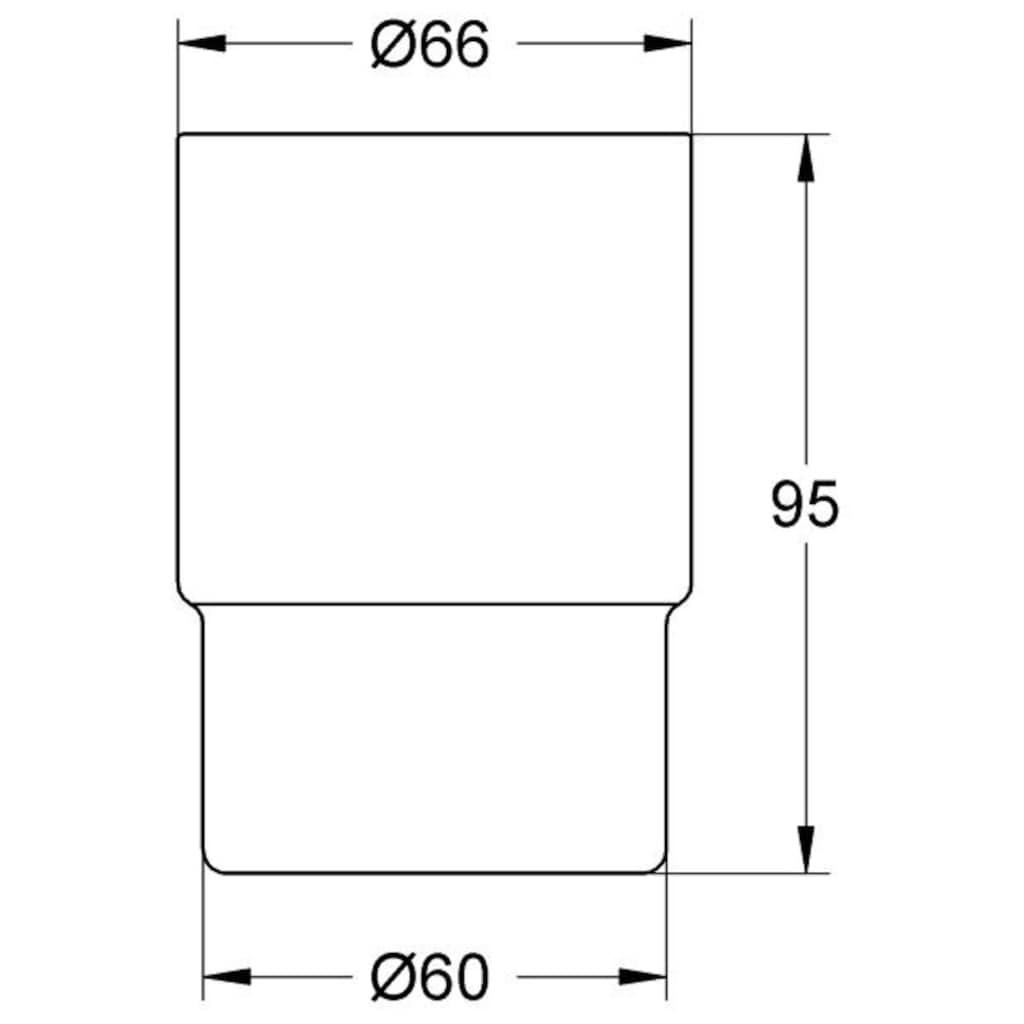 Grohe Zahnputzbecher »Essentials Kristallglas«, für Halter, aus Glas