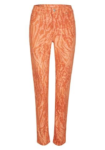 ANGELS Straight-Jeans, 'Cici' mit Animalprint kaufen