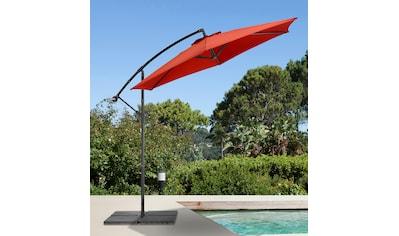 garten gut Ampelschirm »Sunshine«, abknickbar, mit Schirmstände kaufen
