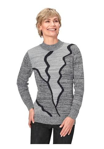 Classic Basics Pullover mit aufwändig gestaltetem Intarsienmuster kaufen