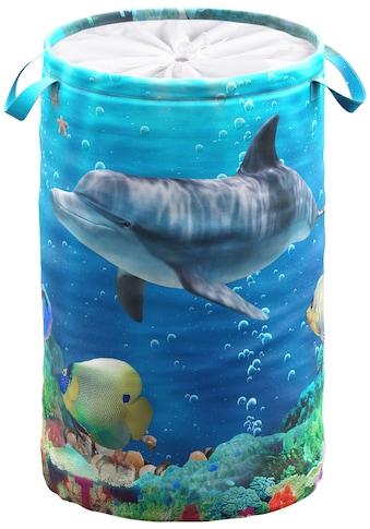 Sanilo Wäschekorb »Delphin Korallen« kaufen