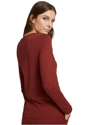 TOM TAILOR Langarmshirt, mit Bio-Baumwolle kaufen
