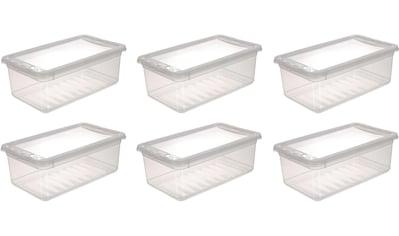 keeeper Stapelbox »bea«, (Set, 6 St.), mit Belüftungsfunktion kaufen