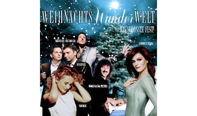 Musik-CD »Weihnachts-Wunder-Welt: Das schönste Fest / Various« kaufen