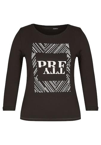 LeComte Print-Shirt, mit Front-Druck und Ziersteinchen kaufen