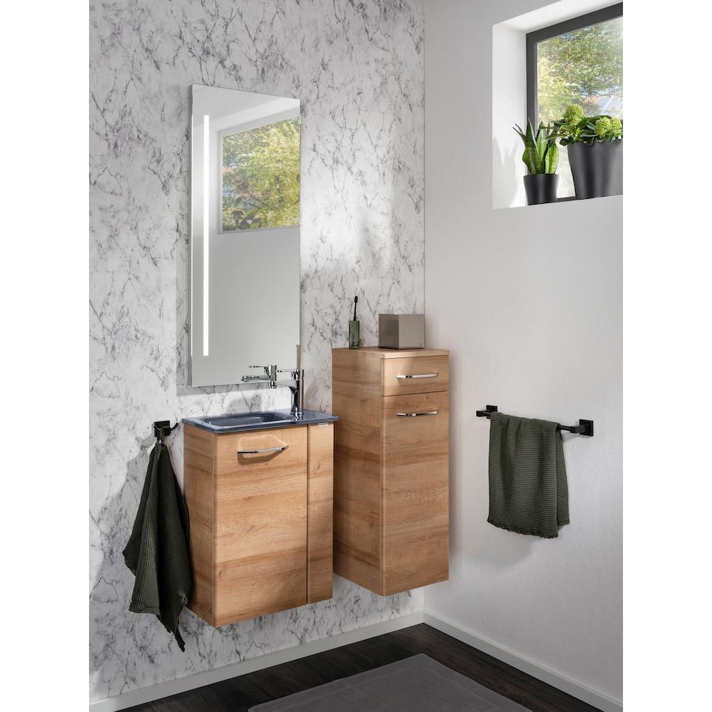 FACKELMANN Waschbeckenunterschrank »Milano«, Tür links und rechts montierbar