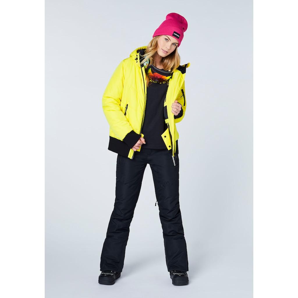 Chiemsee Skijacke »mit reflektierendem Streifen an der Kapuze«