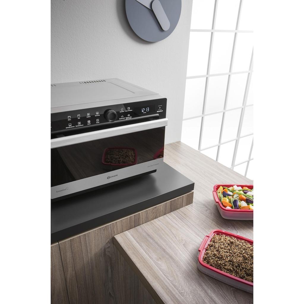 BAUKNECHT Mikrowelle »MW 3391 SX«, Dampfgarfunktion-Grill und Heißluft, 900 W