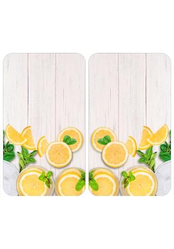 WENKO Herd-Abdeckplatte »Universal Zitronen«, (Set, 2 tlg.) kaufen