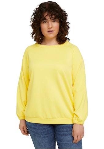 TOM TAILOR MY TRUE ME Sweatshirt, aus weicher Neopren Ware kaufen