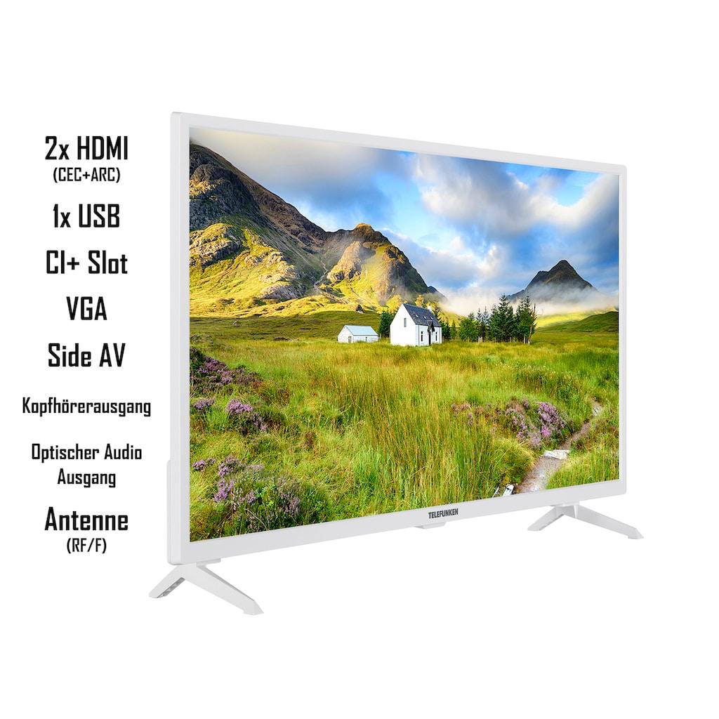 "Telefunken LED-Fernseher »XF32J111-W«, 80 cm/32 "", Full HD"