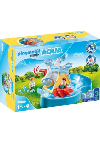 Playmobil® Konstruktions-Spielset »Wasserrad mit Karussell (70268), Playmobil 123 -... kaufen