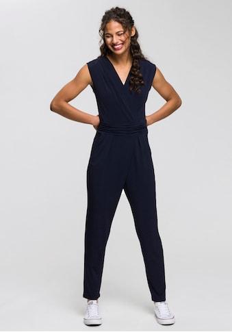 Esprit Collection Jumpsuit, in angesagter Wickeloptik kaufen