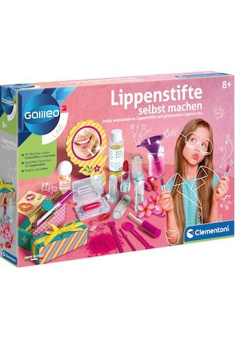 Clementoni® Experimentierkasten »Galileo Lippenstifte selbst machen«, Made in Europe kaufen