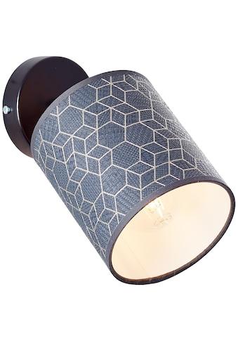 Brilliant Leuchten Wandleuchte, E27, Galance Wandspot schwarz kaufen