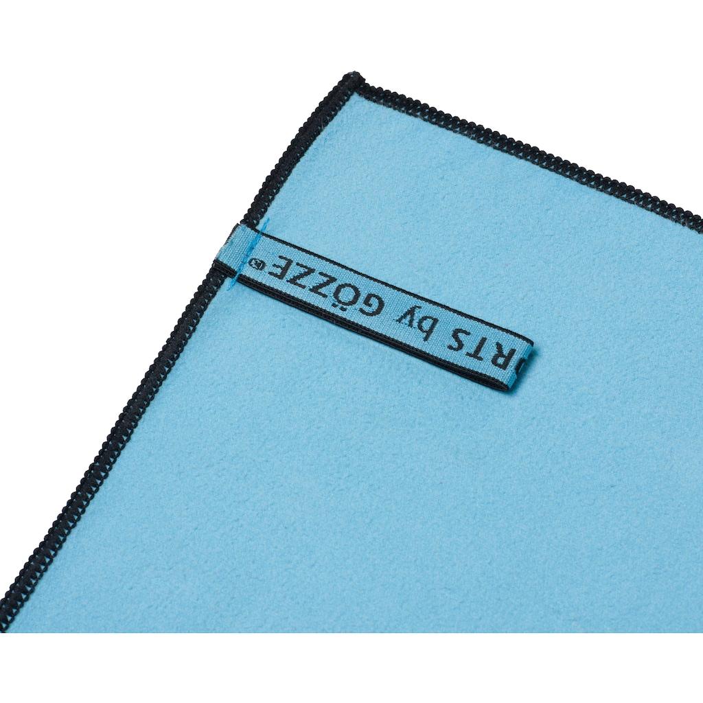 Gözze Sporthandtuch »Lulu«, (2 St.), in schnell trocknender Mikrofaser Qualität
