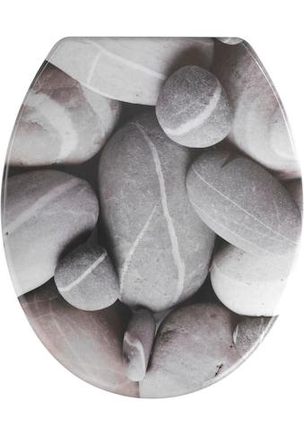 WENKO WC-Sitz »Stones« kaufen