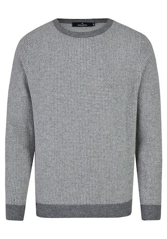 Daniel Hechter Rundhalspullover, mit stylishem all-over Muster kaufen