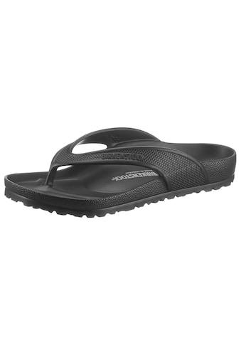 Birkenstock Zehentrenner »Honolulu Holiday Brights«, mit vorgeformtem Fußbett kaufen