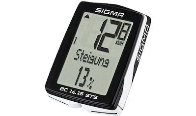 SIGMA SPORT Fahrradcomputer »BC 14.16 STS«, kabellos kaufen