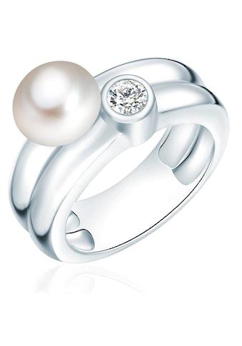 Valero Pearls Perlenring »A1517«, (1 tlg.), aus Süßwasser-Zuchtperlen kaufen