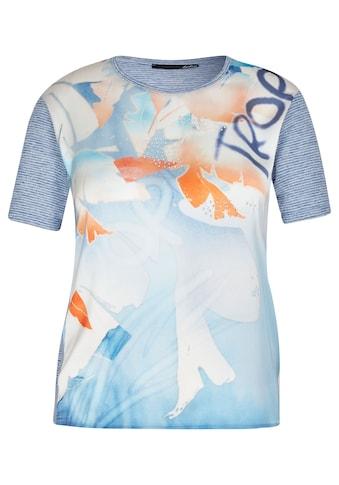 LeComte T-Shirt, mit Glitzerdetails und Front-Print kaufen