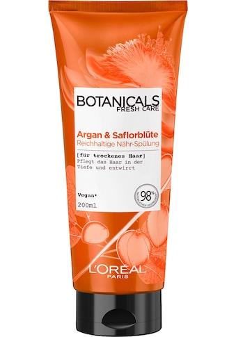 """BOTANICALS Haarspülung """"Argan und Saflorblüte"""" kaufen"""