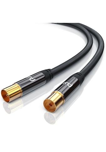 Primewire HDTV Antennenkabel mit 4-fach Schirmung »IEC-Stecker zu RF-Buchse / 75 Ohm /... kaufen