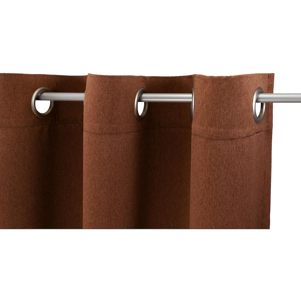 """VHG Vorhang »Ben1«, Vorhang """"Ben"""", VHG, mit Ösen"""