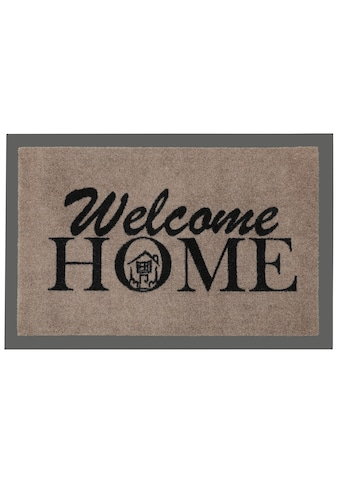HANSE Home Fußmatte »Welcome Home«, rechteckig, 7 mm Höhe, Fussabstreifer, Fussabtreter, Schmutzfangläufer, Schmutzfangmatte, Schmutzfangteppich, Schmutzmatte, Türmatte, Türvorleger, mit Spruch kaufen