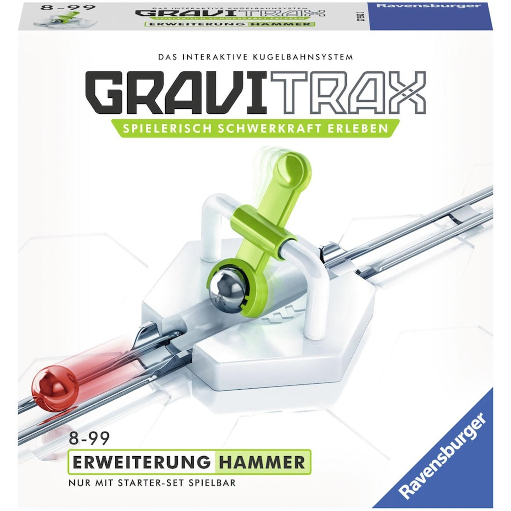 Ravensburger Kugelbahn »GraviTrax® Hammer«, Made in Europe, FSC® - schützt Wald - weltweit