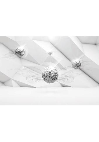 Consalnet Vliestapete »SILBERKUGELN«, grafisch, in verschiedenen Größen kaufen