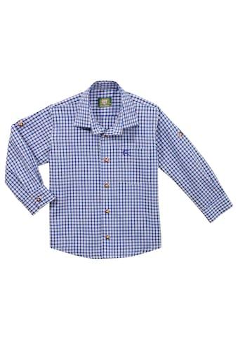 OS-Trachten Trachtenhemd, in frischer Karokombination kaufen