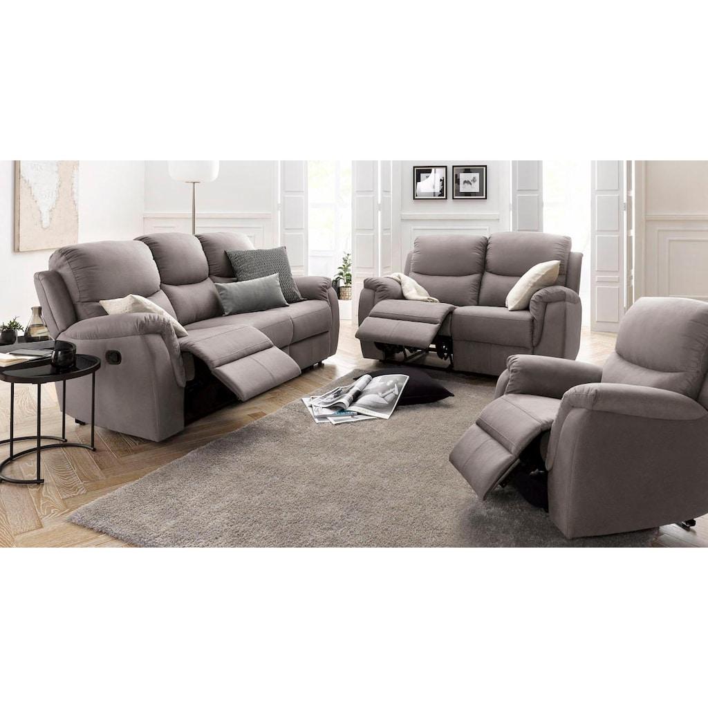 ATLANTIC home collection 2-Sitzer, mit Relaxfunktion und Federkern