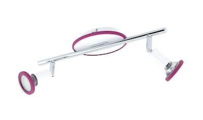 EGLO LED Deckenstrahler »MODINO«, GU10, Warmweiß, mit austauschbaren Deko-Ringen kaufen