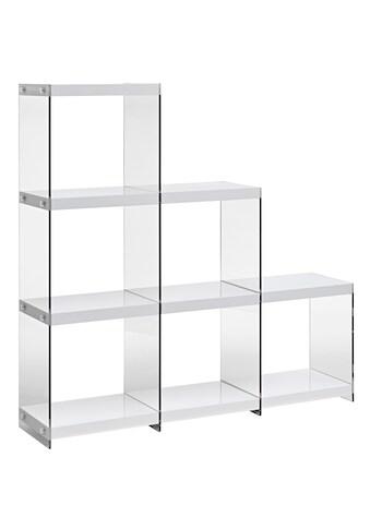Regal , mit transparenten Seitenteilen kaufen