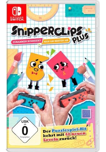 Nintendo Switch Spiel »Snipperclips - Zusammen schneidet man am besten ab!«, Nintendo Switch kaufen
