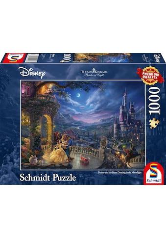 """Schmidt Spiele Puzzle """"Disney Die Schöne und das Biest, Tanz im Mondlicht"""" kaufen"""