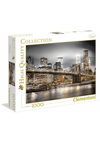 "Clementoni® Puzzle ""New York Skyline"" kaufen"