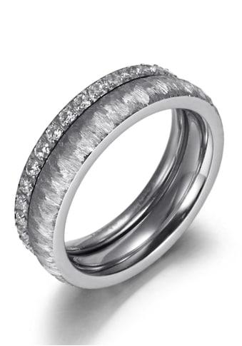 Firetti Ring-Set »2,0 mm, 4,0 mm, glänzend, matt, gekratzt, strukturiert«, (Set, 2... kaufen