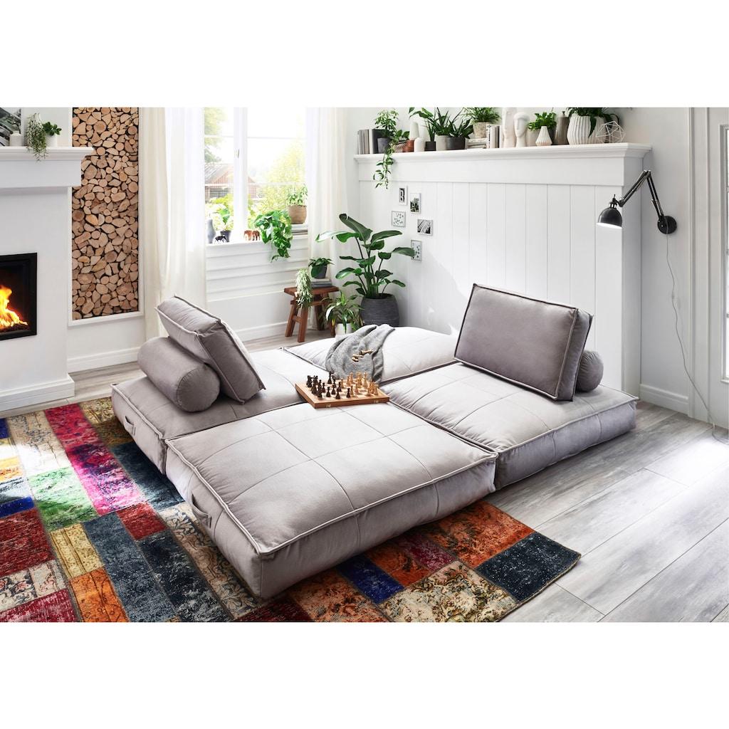 ATLANTIC home collection XXL-Sessel, XXL-Sessel wandelbar zum Gästebett
