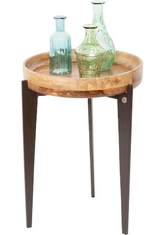 TOM TAILOR Beistelltisch »T-TRAY TABLE HIGH«, mit Tablett, rund, ø 40 cm kaufen
