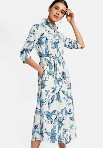 Peter Hahn Sommerkleid »im Hemdblusen-Schnitt«, Bindegürtel kaufen