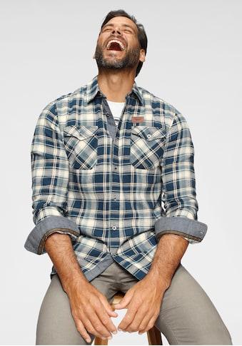 Arizona Flanellhemd, Modisches Großkaromuster kaufen