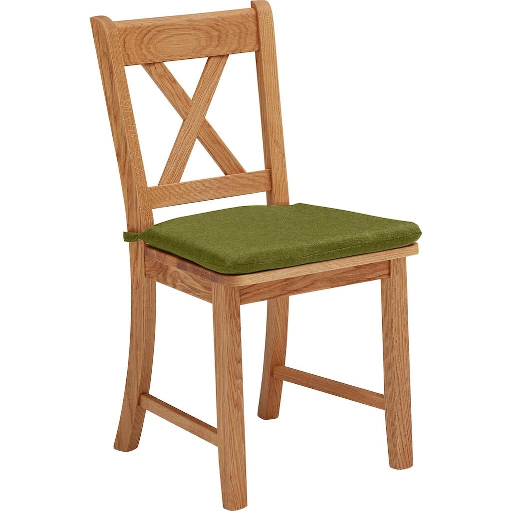 Stuhl »Königsee«, Gestell aus Massivholz
