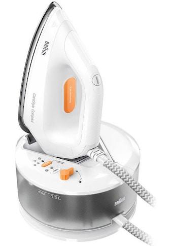 Braun Dampfbügelstation »CareStyle Compact IS 2132«, weiß, max. Dampfmenge 400g/min,... kaufen
