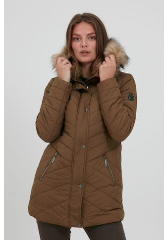 fransa Winterjacke »FRBAVEST 2 Outerwear 20609449«, Modische Jacke mit Fake-Fur Kragen kaufen